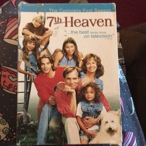 The complete first season of seventh heaven